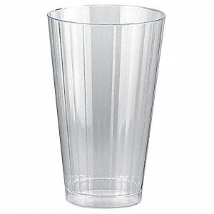 Disposable Tumbler,16 Oz,Clear,PK 240