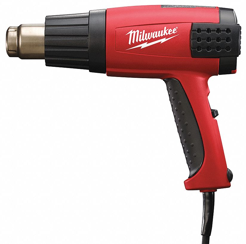 Electric Heat Gun 120V AC, Variable Temp. Settings, 120° to 1150°F