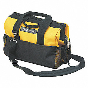 Hard Carrying Case,12x8-1/2x16,Black/Ylw