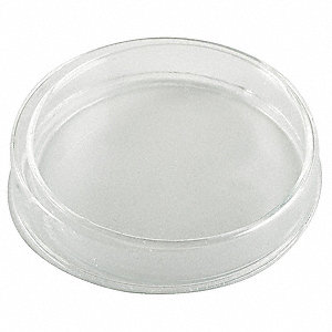 Petri Dish With Cover,Glass,66mL,PK12