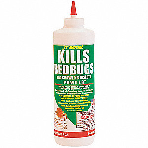 Bed Bug Killer,Bed Bugs,Powder, 7 oz.