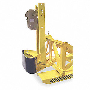 Drum Lifter,1500 lb,7-1/8In x 2-3/8In