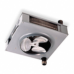 Hydronic Unit Heater,25-1/4 In. W