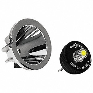LED Upgrade Kit for AA Mini Mag-Lite Flashlight, 1EA