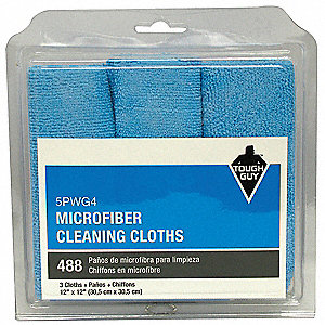 "12"" Microfiber Dust Cloth, 3 PK"