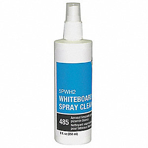 8 oz. Dry Erase Board Cleaner, Removes Ghosting, Shadowing, Grease and Dirt&#x3b; PK1