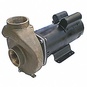 5 HP Pool/Spa Pump, 3-Phase, 15.8-15/7.5 Amps