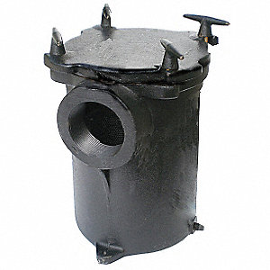 PumpStrainer,3 In,Cast Iron,Fits 5PXD0-1