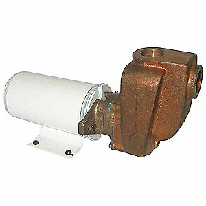 Brass 1/8 HP Centrifugal Pump, 12VDC Voltage
