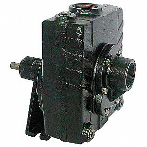 Pedestal Pump, 2 HP Required, 1-1/2 Inlet (In.), 1-1/2 Outlet (In.)