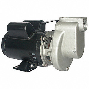 "1/2 HP Utility Pump, 115 Voltage, 1"" NPT Inlet, 1"" NPT Outlet"