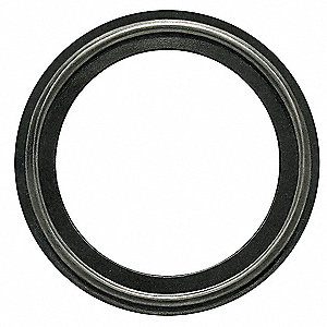 "Tri-Clamp Gasket, 3.843"" Inside Dia., 4.685"" Outside Dia., EPDM, 4"" Tube Size"