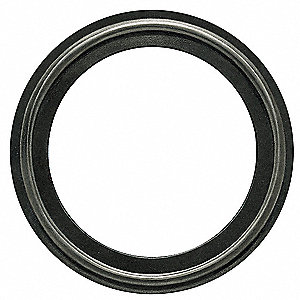 "Tri-Clamp Gasket, 3.843"" Inside Dia., 4.685"" Outside Dia., EPDM METAL Detect, 4"" Tube Size"