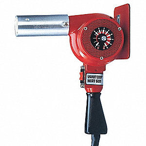 HEAT GUN,VARIABLE TEMP,750 F MAX, 2