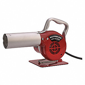Electric Heat Blower 240VAC, Fixed Temp. Settings, 500°F
