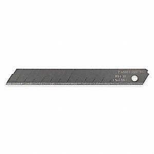 "3-1/2"" x 9mm Carbon Steel Snap-Off Blade; PK3"