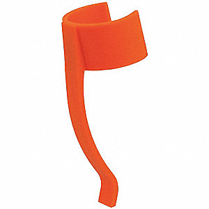 Pocket Clip, Orange for Mfr. No. NSP-1236, NSP-1224, NSP-1206 Series Multi-Purpose LED Lights