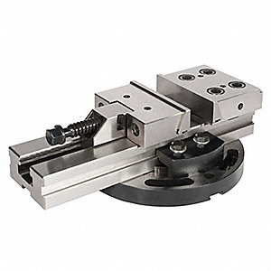 Precision Machine Vise,Low Profile,5 In