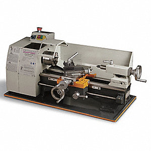 Bench Lathe,8x15,1HP,1 Phase