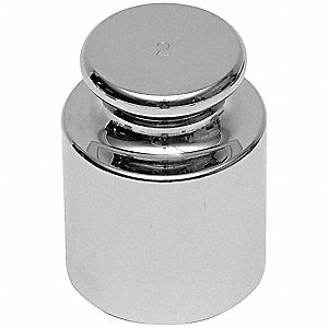 Calibration Weight,2g,Stainless Steel