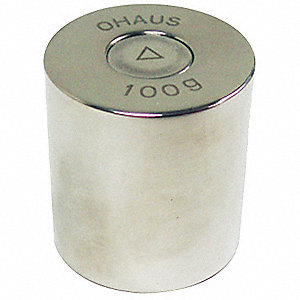 Calibration Weight,100g,Stainless Steel