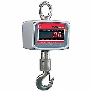 Digital Crane Scale,Metal,15 In. H