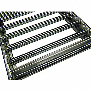 Flow Rack Conveyor,11-3/4 In x 3.7 ft.
