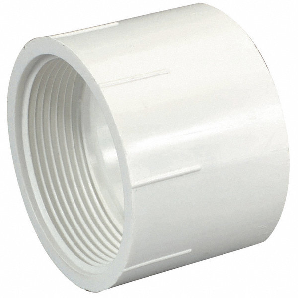 Mueller industries pvc female adapter fnpt hub quot pipe