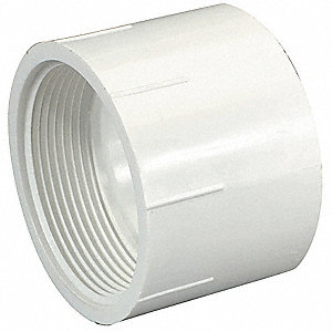 "PVC Female Adapter, FNPT X Hub, 4"" Pipe Size (Fittings)"
