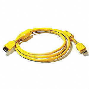 3 ft. High Speed HDMI Cable, Yellow&#x3b; For Use With Audio-Visual Equipment