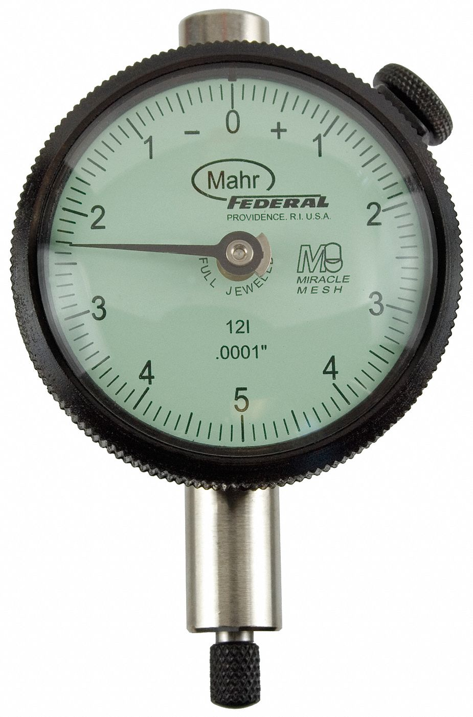 Dial Indicator - Lug Back,  Range 0 in to 0.025 in,  Back Type Lug,  Reading Balanced