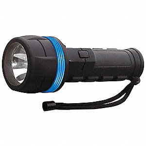 Gen Purpose Handheld Light,Incand,Black