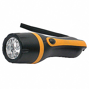 Gen Purpose Handheld Light,LED,Black