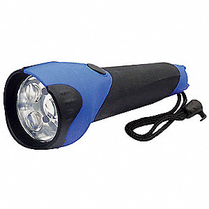 Industrial LED, ABS Plastic, Black/Blue