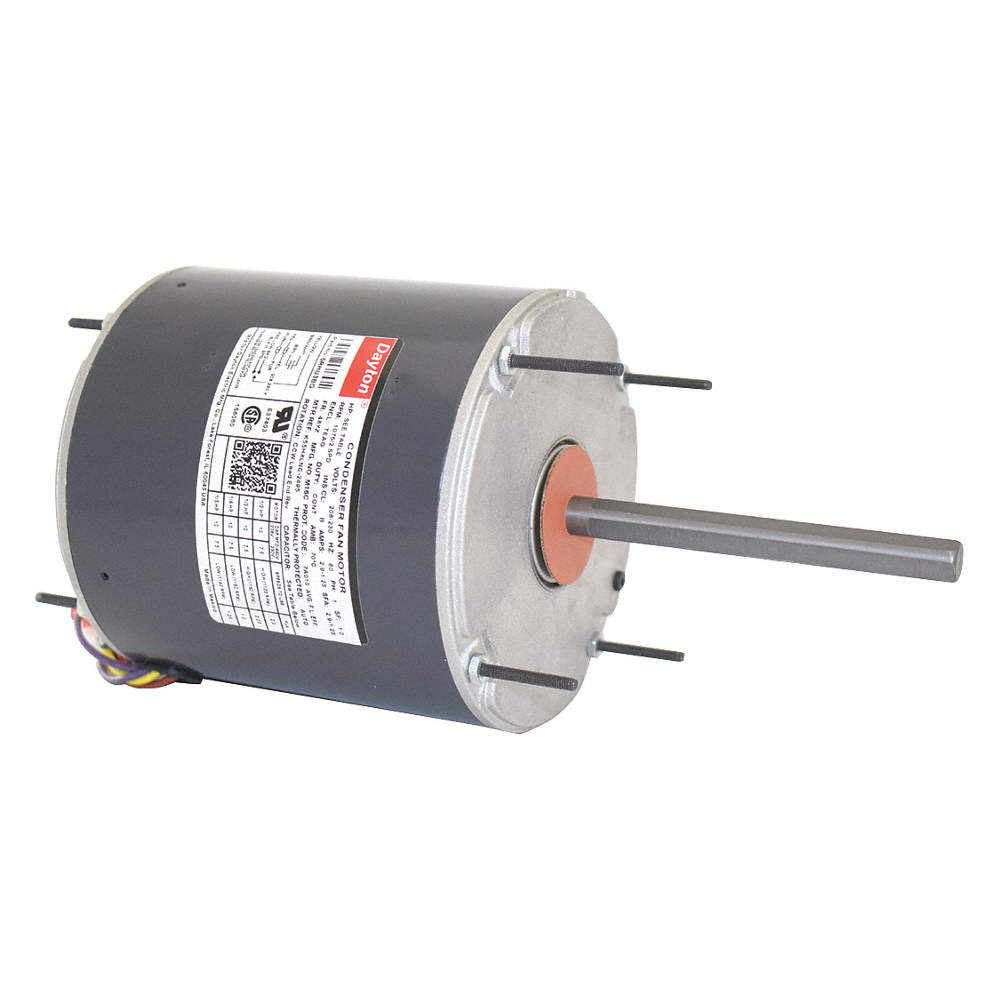 dayton 1 2 to 1 5 hp condenser fan motor,permanent split capacitorzoom out reset put photo at full zoom \u0026 then double click