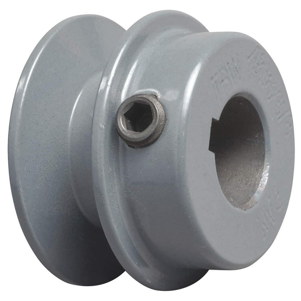 "TB WOOD/'S BK2034 3//4/"" Fixed Bore 1-Groove Standard V-Belt Pulley 2.15/"" OD"