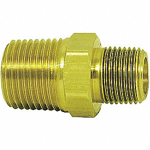 "3/4"" x 1/2"" Hex Nipple with MNPT Fitting Connection Type and 3000 psi Max. Pressure"