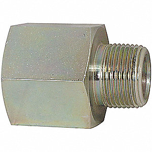 "3/8""-18 x 1/4""-18 Adapter with FNPT x MNPT Fitting Connection Type and 3000 psi Max. Pressure"