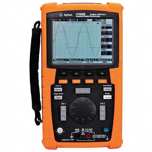 keysight technologies handheld oscilloscope 20mhz usb host