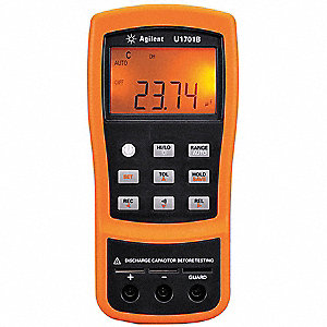 Digital Capacitance Meter, 0.1 pF to 199.99 mF Capacitance Range