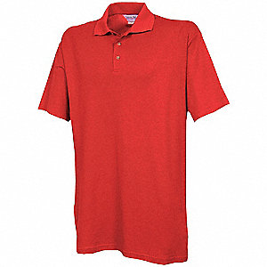 Unisex Knit Shirt, Metro Red, M