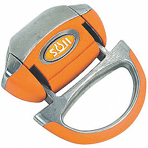 Shuttle,Silver/Orange,7 In. L