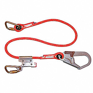 Restraint Lanyard,6 ft.,310 lb.,Rope