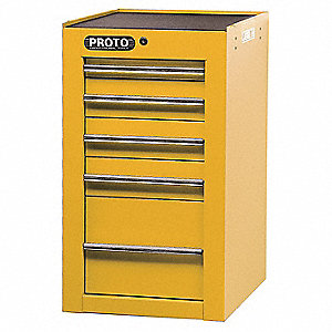 19 SIDE CABINET YELLOW