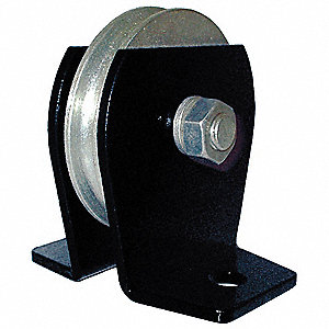 Pulley Block,Wire Rope,2000 lb Load Cap.