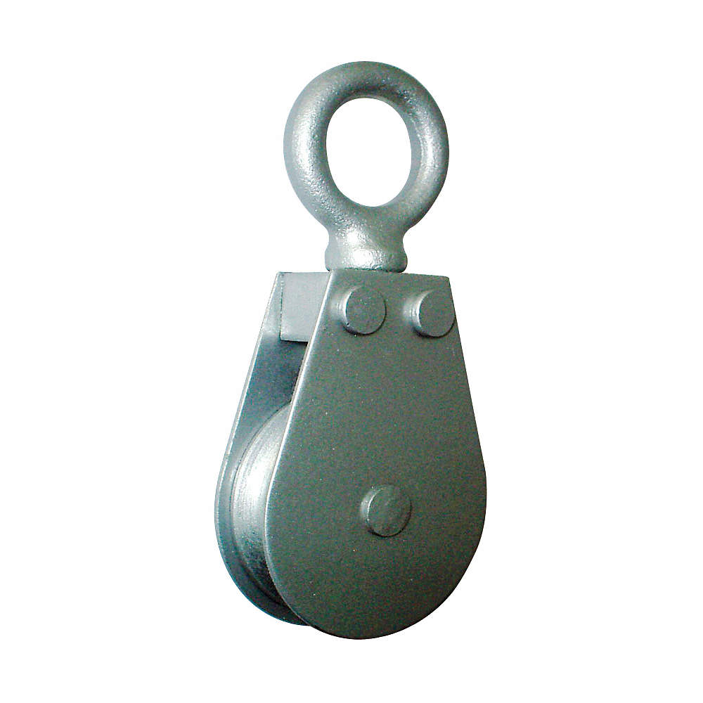 GRAINGER APPROVED Pulley Block,Wire Rope,600 lb Load Cap. - 5RRV8 ...