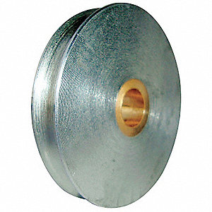 Sheave,Wire Rope,1700 lb Load Cap.