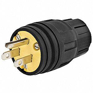 5RVU6_AS01?$mdmain$ hubbell wiring device kellems watertight plug,5 15p,15a,125v 1 phase
