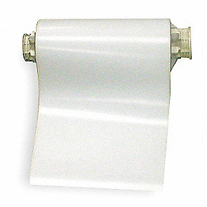 "White Vinyl Film Label Tape Cartridge, Indoor/Outdoor Label Type, 50 ft. Length, 10"" Width"