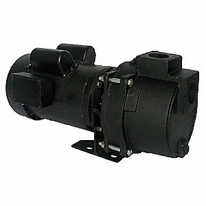 3 HP Sprinkler/Booster Pump, 115/208-230 Voltage, 1-1/2 Inlet (In.), 1-1/2 Outlet (In.)